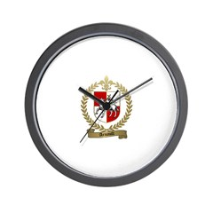 ARNAULT Family Crest Wall Clock