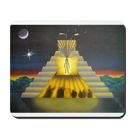Condor and Eagle Mousepad