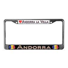 ANDORRA - License Plate Frame