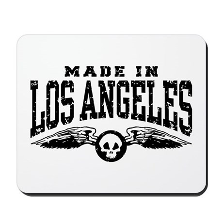 Made In Los Angeles Mousepad