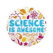 """Cute Science 3.5"""" Button (100 pack)"""