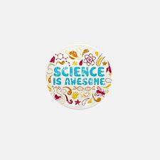 Cute Science Mini Button (10 pack)