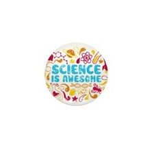 Cute Science Mini Button
