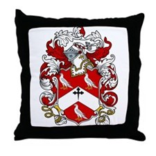 Hedley Coat of Arms Throw Pillow