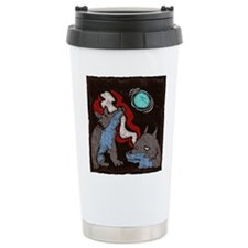 Early Cuyler 3 Wolf Moon Travel Mug