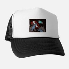Early Cuyler 3 Wolf Moon Trucker Hat