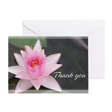 Lotusflower Thank You Card 5x7