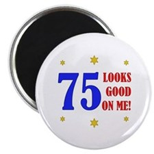 Fun 75th Birthday Magnet