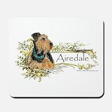 Vintage Airedale Mousepad