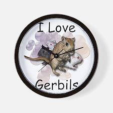 Elk County Gerbil Wall Clock