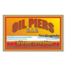 Oil Piers Ventura Rectangle Decal