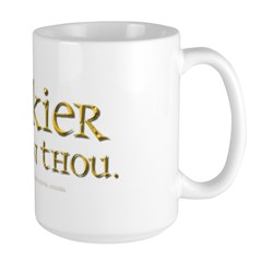 Geekier than thou Mug
