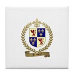 BRASSEUR Family Crest Tile Coaster