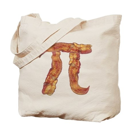 Bacon Pi Tote Bag