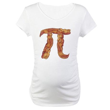 Bacon Pi Maternity T-Shirt