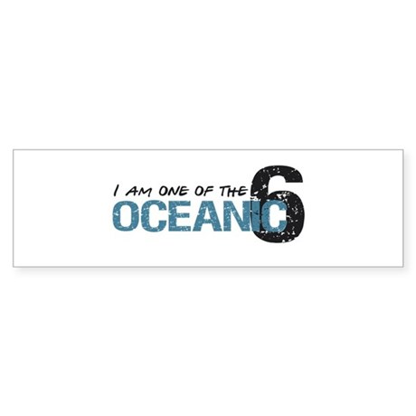 1 of oceanic 6 Bumper Sticker