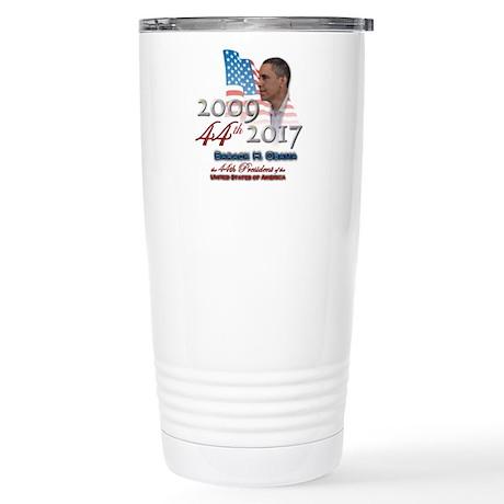 44th President - Stainless Steel Travel Mug