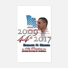 44th President - Rectangle Decal