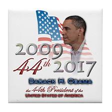 44th President - Tile Coaster