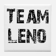 Team Leno Tile Coaster
