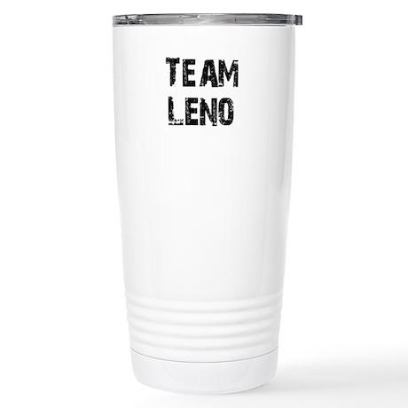 Team Leno Stainless Steel Travel Mug
