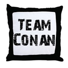 Team Conan Throw Pillow