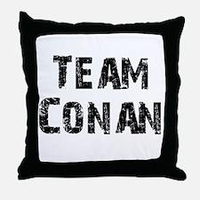 Team Conan Throw Pillow