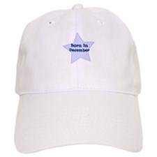 Born In December Baseball Cap