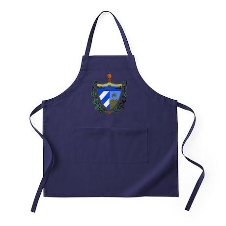 Cuba Coat of Arms Apron (dark)