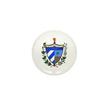 Cuba Coat of Arms Mini Button (10 pack)