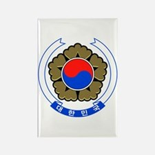 South Korea Coat of Arms Rectangle Magnet