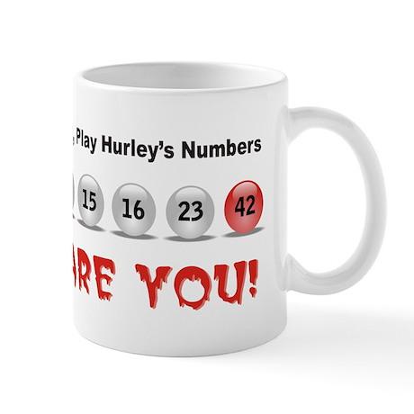 Play Hurley's Numbers Mug