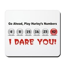Play Hurley's Numbers Mousepad