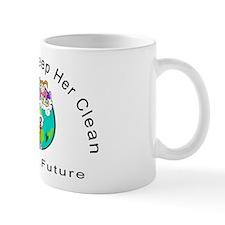 Help Keep The Earth Clean Mug