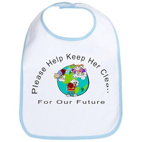 Help Keep The Earth Clean Bib