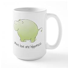 peace, love & hipponess Mug