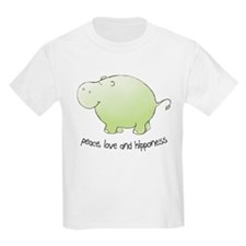 peace, love & hipponess T-Shirt