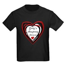 Grey's Anatomy Forever Kids Dark T-Shirt