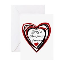 Grey's Anatomy Forever Greeting Card