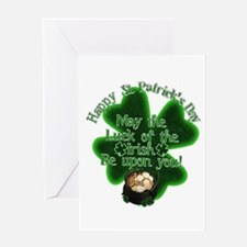 Cute May the forest be with you Greeting Card