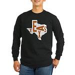 Texas Football Long Sleeve Dark T-Shirt