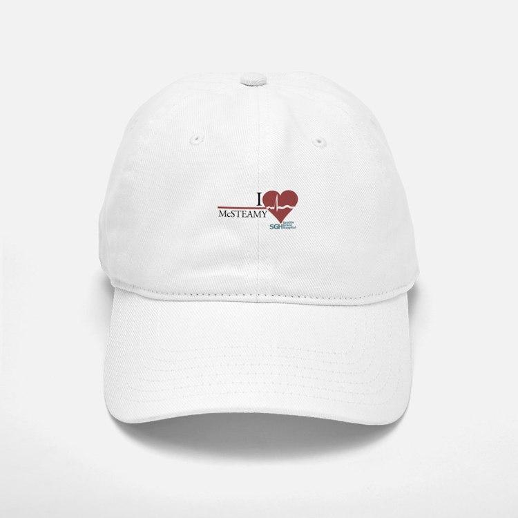 I Heart McSTEAMY - Grey's Anatomy Baseball Baseball Cap
