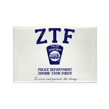 Zombie Task Force Rectangle Magnet