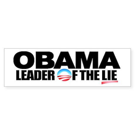 Extreme Anti Obama Bumper Sticker (single)