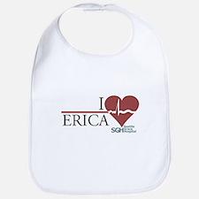 I Heart Erica - Grey's Anatomy Bib