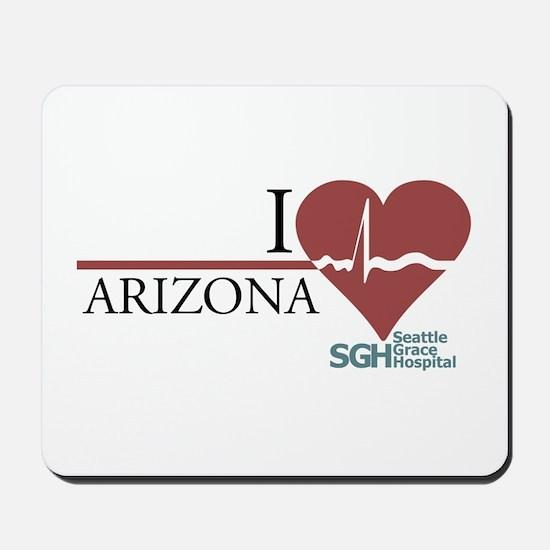 I Heart Arizona Mousepad
