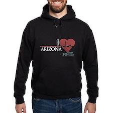 I Heart Arizona - Grey's Anatomy Hoodie (dark)