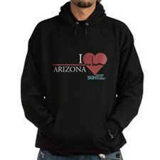 I Heart Arizona - Grey's Anatomy Hoodie