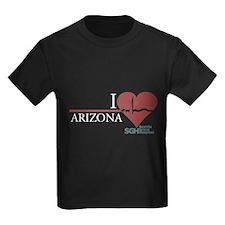 I Heart Arizona - Grey's Anatomy Kids Dark T-Shirt