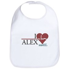 I Heart Alex - Grey's Anatomy Bib